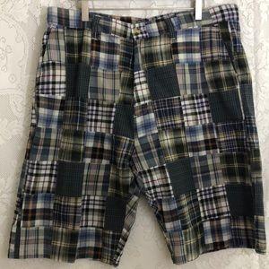 NWT Siegfried vintage plaid shorts sz 40